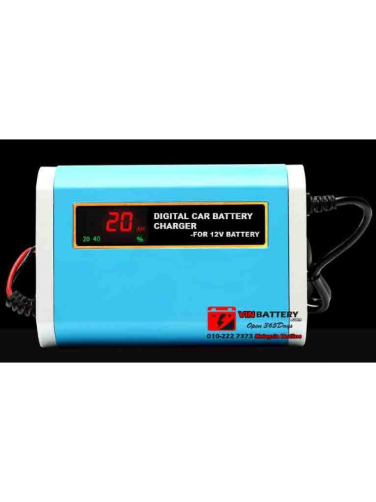 Battery Charger Digital Screen 12V6A